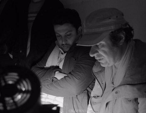 <h5>پشت صحنه سریال تلویزیونی «نشانی»</h5><br><div>بینەر - سریال تلویزیونی نشانی به کارگردانی هژار نورانی و تهیه کنندگی مشترک هژار نورانی و ... </div>